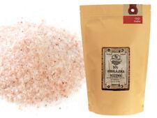 Sól himalajska drobna 500 g różowa naturalna spożywcza z Pakistanu