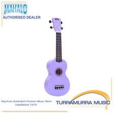 Mahalo MR1 Rainbow Series Soprano Ukulele with Carry Bag - Purple Uke - MR1PP