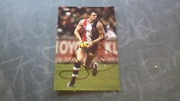 St KILDA FC GREAT JUSTIN KOSCHITZKE HAND SIGNED 6x4 INCH ACTION PHOTO
