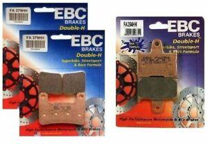 EBC HH Front + Rear Brake Pads for 04-06 Suzuki GSX-R1000 / FA379HH + FA254HH