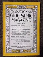 National Geographic Magazine February 1957 Wisconsin, Roman Life, Roads of Aden