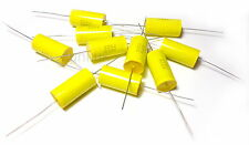 10x Capacitor 2.2uF 630V Polypropylene Axial Valve Vintage Metal Film UK