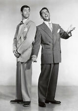 Dean Martin y Jerry Lewis BW Póster