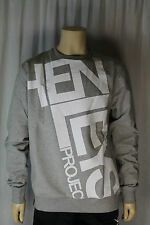 Henleys Project Deluxe Docker Grey Sweatshirt UK Size Large  (T175)