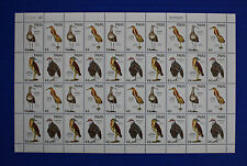 Palau (#187-190) 1988 Ground Dwelling Birds MNH sheet