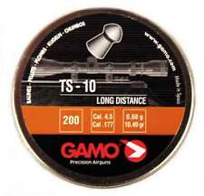.177 Gamo TS-10 TS10 Domed Pellets - 10.49 Grain 200 Count
