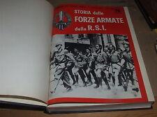RIVISTA -STORIA DELLE FORZE ARMATE R.S.I.-RILEGATGA DAL N.76 DEL 1968 AL 100-Z36