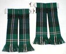 Calze per kilt calzino lampeggia Melville moderno Tartan Pettinata con frange e Kilt highlandwear