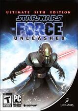 PC DVD • The Force Unleashed Ultimate Sith Edition Edizione Speciale • SIGILLATO