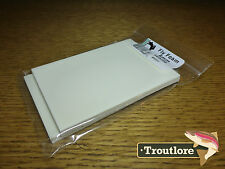 6MM THICK FLY TYING FOAM WHITE 2-PACK - NEW TERRESTRIAL FLY TYING MATERIALS