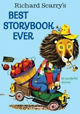 Giant Little Golden Book Ser.: Richard Scarry's Best Storybook Ever by Richard Scarry (2000, Hardcover)