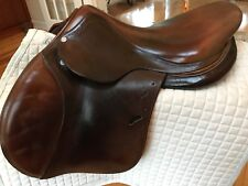 "2009 17"" Antares English Jumping Saddle.  Very Nice Condition"