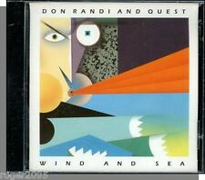 Don Randi & Quest - Wind and Sea - New 1990 Headfirst Jazz CD!