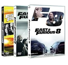 FAST AND FURIOUS 6, 7, 8 (3 DVD) Vin Diesel, Paul Walker, Dwayne Johnson