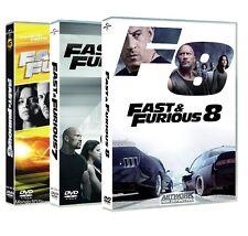 FAST AND FURIOUS 6, 7, 8 (3 DVD) Vin Diesel, Paul Walker, Dwayne Johnson