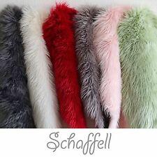 Schaffell Lammfell in versch. Farben in 55x80 cm | Fell Teppich Kunstfell *NEU*!