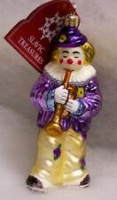 Slavic Treasures Glass Ornament - Jason (Trumpet)