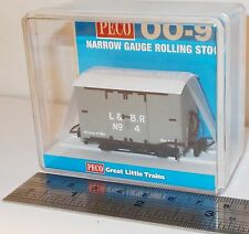Peco GR-220C - Lynton & Barnstaple Box Van, L&BR Grey (No.4)          New  (009)