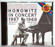CD HOROWITZ in Concert 1967-1968 - Mendelssohn, Haydn, Liszt, Scarletti