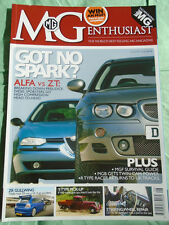 MG Enthusiast Aug 2006 Y Type Pick Up, Alfa vs ZT, ZR Gullwing