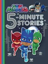 Pj Masks Five 5-Minute Stories Book Bedtime Storybook