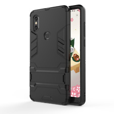 Slim Tough Shock Proof Bumper Armour Case Cover Kick Stand For Xiaomi Phones