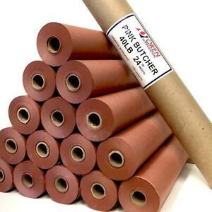 """Oren Pink Butchers Paper 24""""  150ft"""