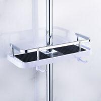Porte-plateau étagère douche rangement Caddy rack organisateur salle de bain