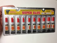M00391x10 MOREZMORE Epoxy Super Glue 10 Tubes Adhesive Wood Rubber Plastic DWS