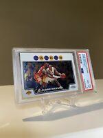Kobe Bryant 2008-2009 Topps Chrome PSA 8 #24 Iconic With Lebron James Looks Mint