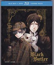 Black Butler: Book of Murder (BD/DVD, 2016, 2-Disc Set)