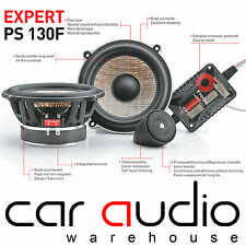 "Focal PS130F Expert Series 5.5"" 13cm 120 Watts Flax Cone Component Car Speakers"