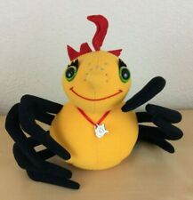 Callaway & Kirk, 1995 Miss Spider Plush with Charm, Sunny Patch Friends