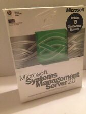 Microsoft Systems Management Server 2.0 / 10 Client / Microsoft Back Office  NEW