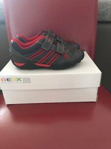 Geox J Tawis B.A Jungen Schuhe Sneaker Gr:35 Neu In Karton