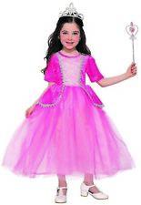 Princess Silver Rose Girls Child Fairytale Dress Up Halloween Costume