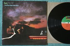 Genesis...And Then There Were Three... 1978 1st Press Lyrics Excellent!
