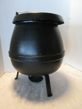 Vintage Vollrath Soup Kettle Black Chafing Commercial Sterno Warmer 78780 8 Qts
