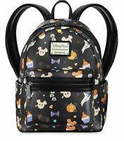 Disney Parks Loungefly Mickey Halloween Candy Snacks Treats Backpack Bag - NEW