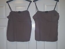 Mexx Taupe Vest Tops x2 – Size L (12 approx.)