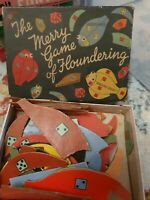 VINTAGE THE MERRY GAME OF FLOUNDERING BY SPEARS GAMES