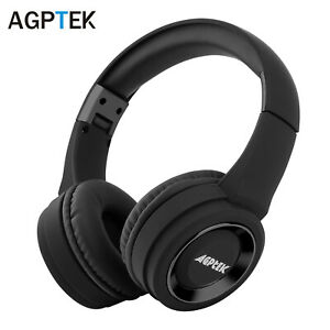 Foldable Bluetooth Headphones Wireless Headset Over Ear Noise Reduction Earphone