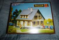 Faller B-214 HO Haus Gebäude Modelleisenbahn Originalverpackt NEU!
