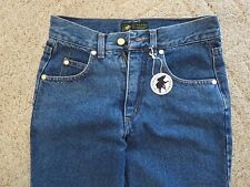Vtg HUNTING WORLD NYC Blue Denim Jeans for Skinny Women Size 27 New Old Stock!!!