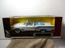 1:18 ~ DIECAST CAR ~ ROAD SIGNATURE ~  DELUXE EDITION ~ 1958 PONTIAC BONNEVILLE