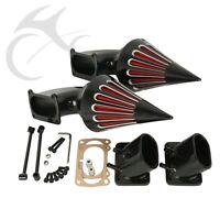 Air Cleaner Kits Intake Filter For Suzuki Boulevard M109 M 109R Aluminum Black