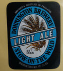 VINTAGE BRITISH BEER LABEL - DONNINGTON LIGHT ALE 19 1/3 FL OZ BLACK