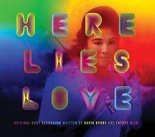 Here Lies Love (Original Cast Recording) (NEW 2 x CD) David Byrne Fatboy Slim