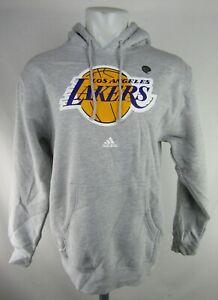 Los Angeles Lakers NBA adidas Men's Pullover Sweatshirt