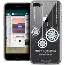 "Coque Crystal Gel Pour iPhone 8 Plus (5.5"") Extra Fine Souple Noël 2017 Christma"